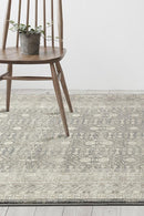 Sophia Breeze Orb Silver Rug - Block & Crate