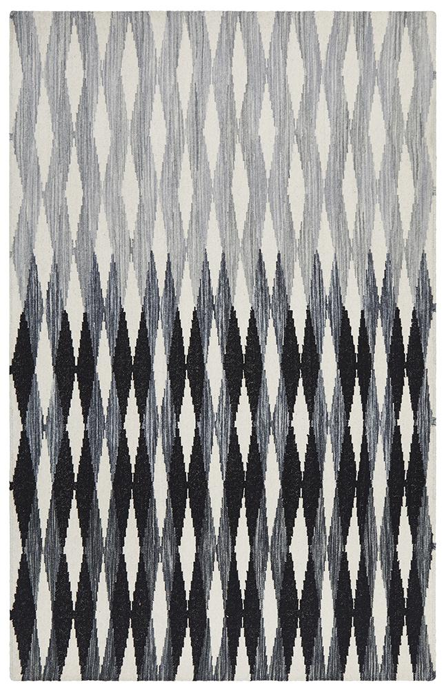 Studio Frida Uber Gradient Rug Black Grey White - Block & Crate