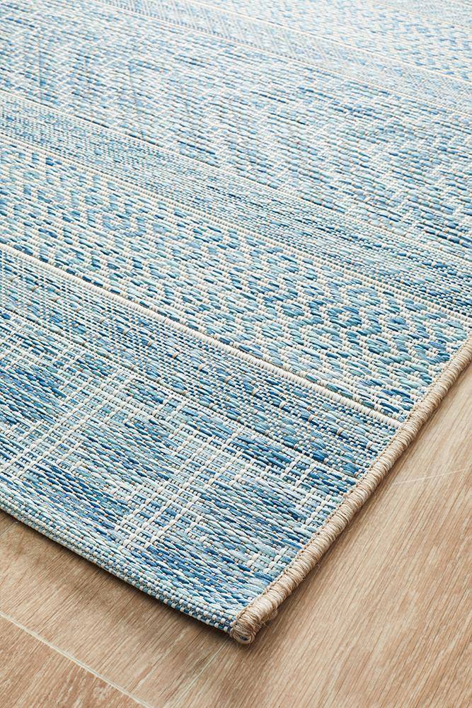Rug Culture Terrace 5505 Blue - Block & Crate