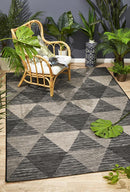 Rug Culture Terrace 5503 Black - Block & Crate