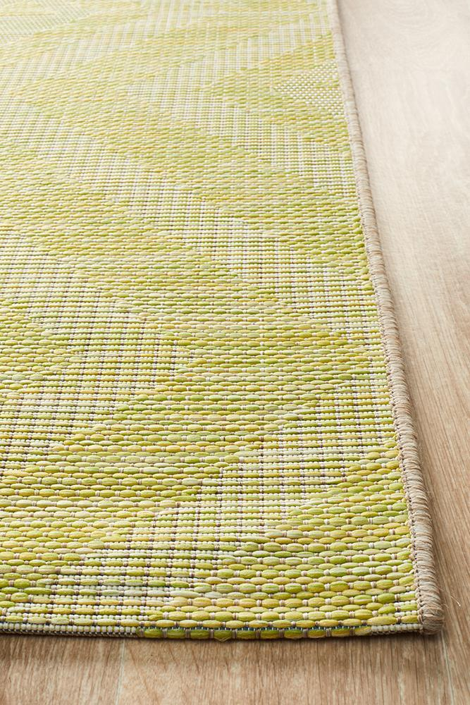 Rug Culture Terrace 5504 Green - Block & Crate