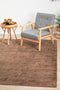 Twilight Collection Brown Rug - Block & Crate