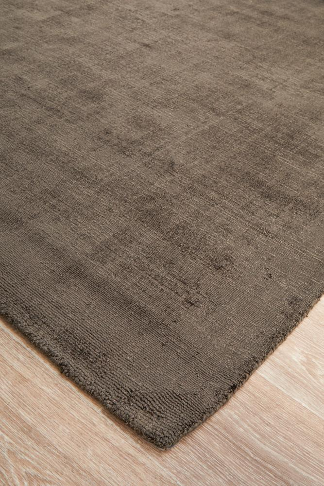 Twilight Collection Chocolate Rug - Block & Crate