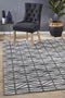 Visions Winter Pewter Prestige Modern Rug - Block & Crate