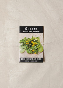 Purslane Greens Seed Pack