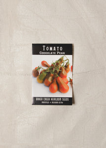 Chocolate Pear Tomato Seed Pack