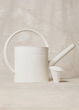 Waterfall Watering Can Off White