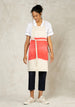 oat and geranium ombre workers apron front