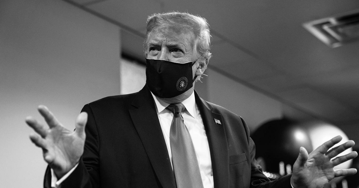 President Trump encourages everyone to wear a mask