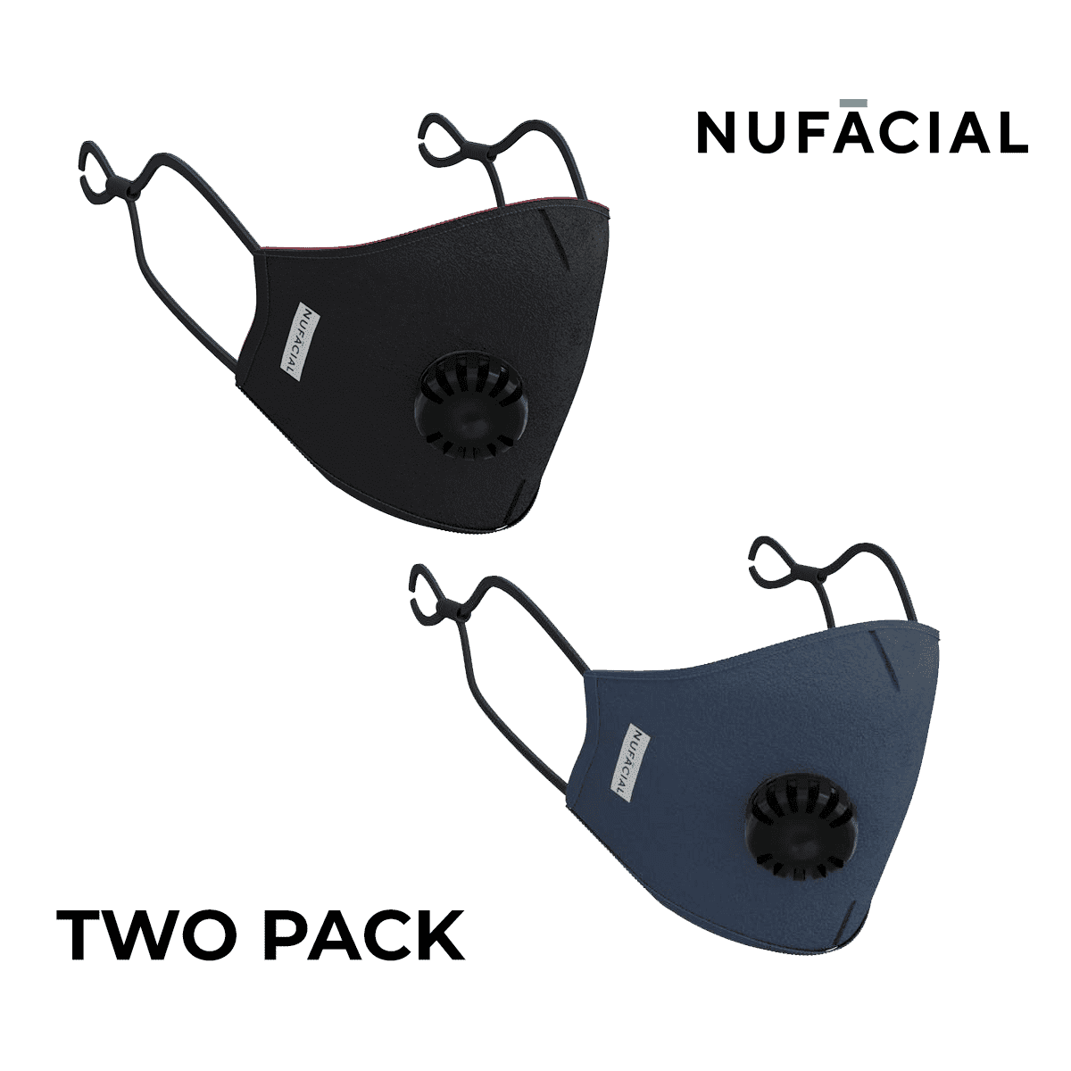 Black and Navy - NuMask by NuFacial
