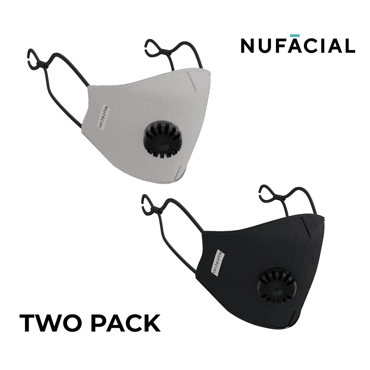Gray and Black - NuMask by NuFacial