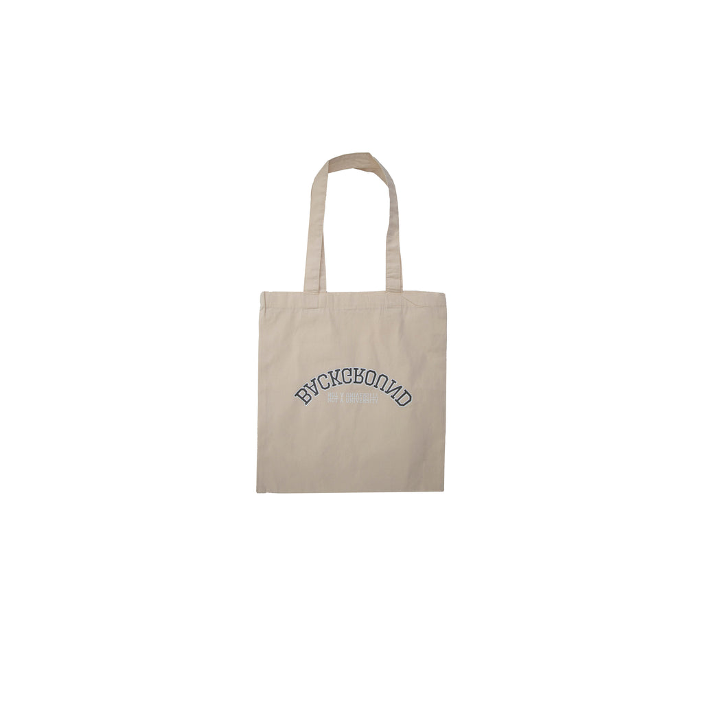 Not A University Organic Tote Bag Raw