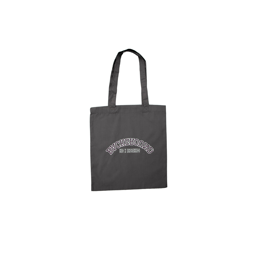 Not A University Organic Tote Bag Grey