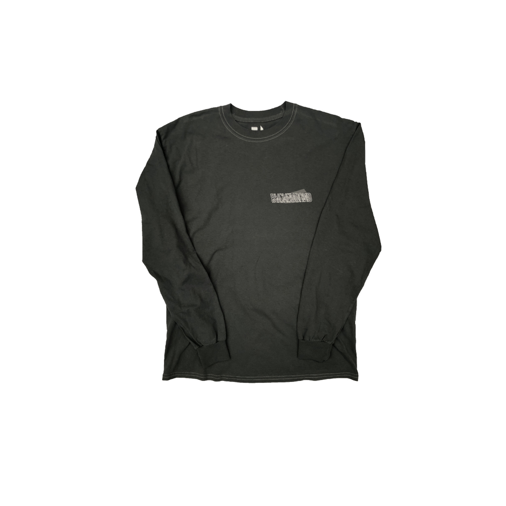 Washed Polygon Long sleeve T-Shirt