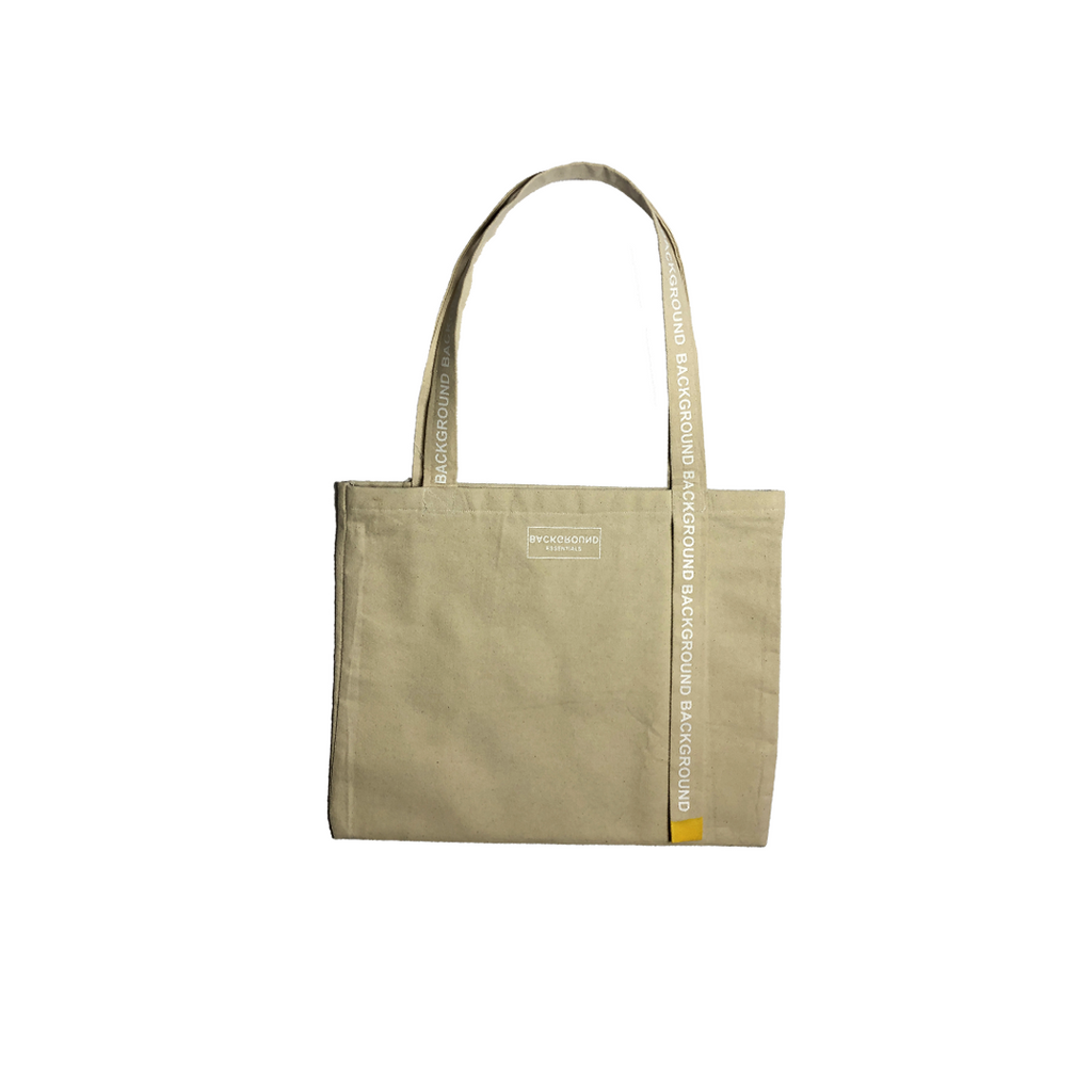 Raw Canvas Tote Bag