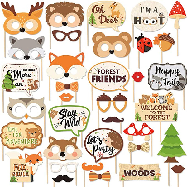 animals themed party accessories