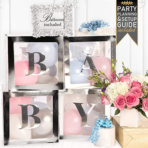 Silver Baby boxes