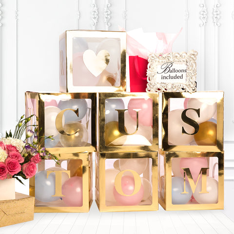 Gold Baby boxes