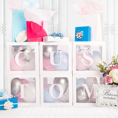 Personalized Custom Letters or Letter Boxes