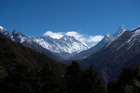 himalayas visible for the first time in decades due to lockdown in India