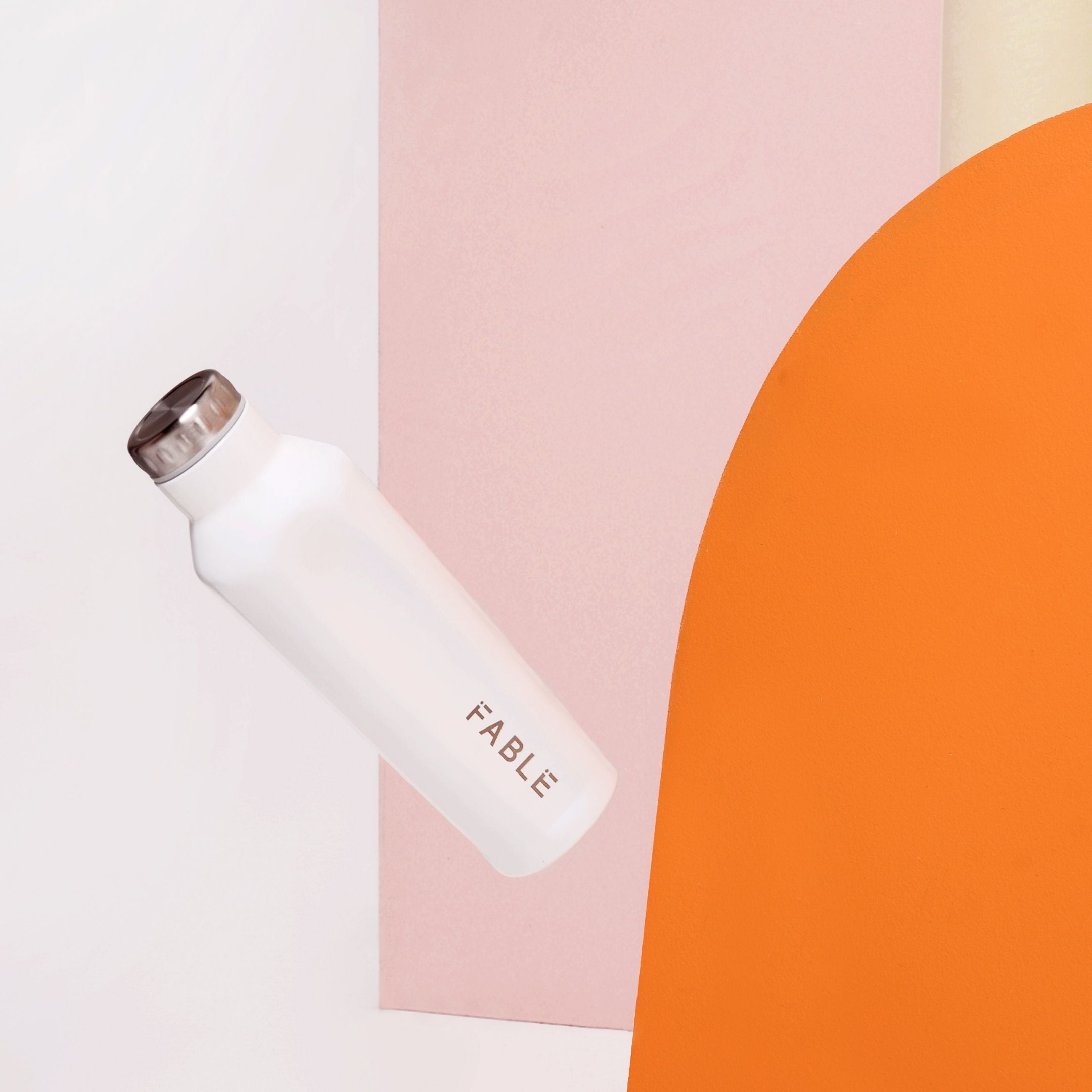 FABLE KEEP HOT / COLD DRINKS BOTTLE - WHITE