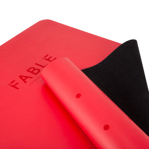 FABLE 2MM COMMUTER YOGA MAT - RED