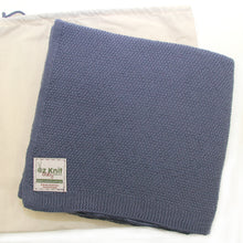 Load image into Gallery viewer, Moss Stitch Blanket - 100cm x 100cm