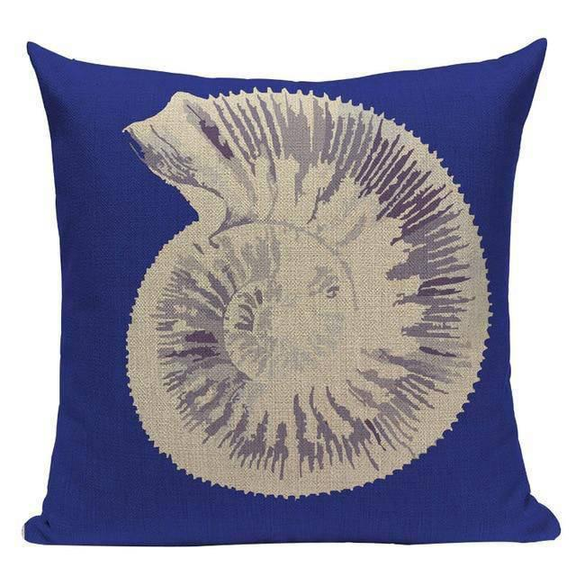 Coussin Bord de Mer Coquillage