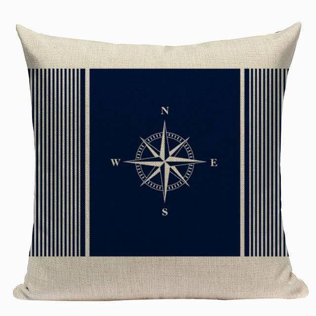 Coussin Style Marin