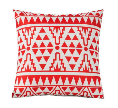 Collection Mayan Red 4 coussins