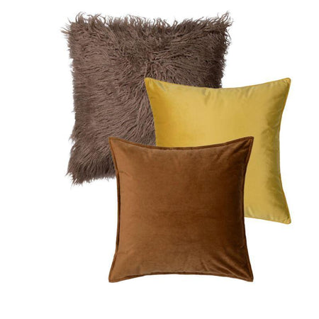 Collection Savane Jaune 3 coussins