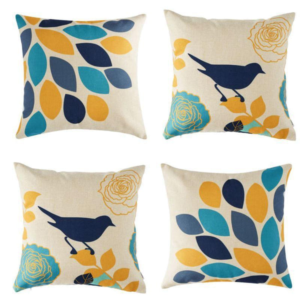 Collection Birdy 4 coussins
