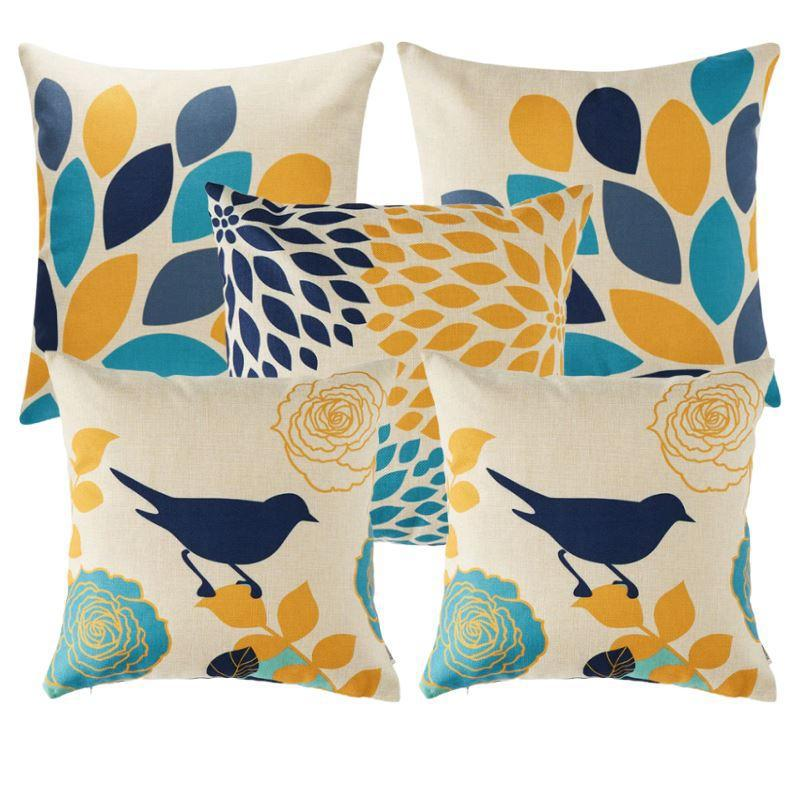Collection Birdy 5 coussins