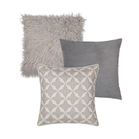 Collection Sofa Grey 3 coussins