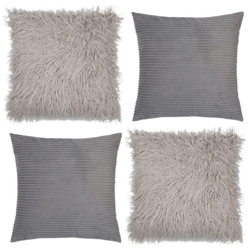 Collection Sofa Grey 4 coussins