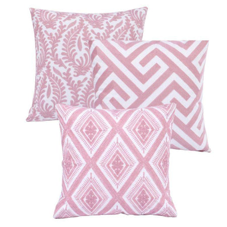 Collection Pink Serie 3 coussins
