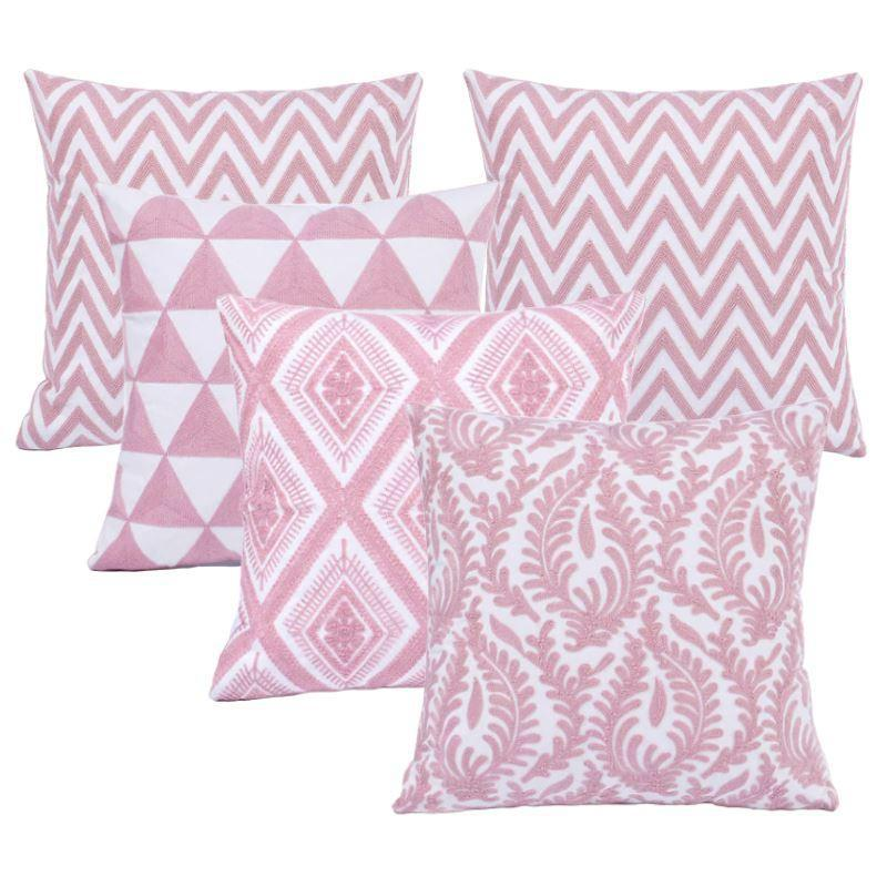 Collection Pink Serie 5 coussins