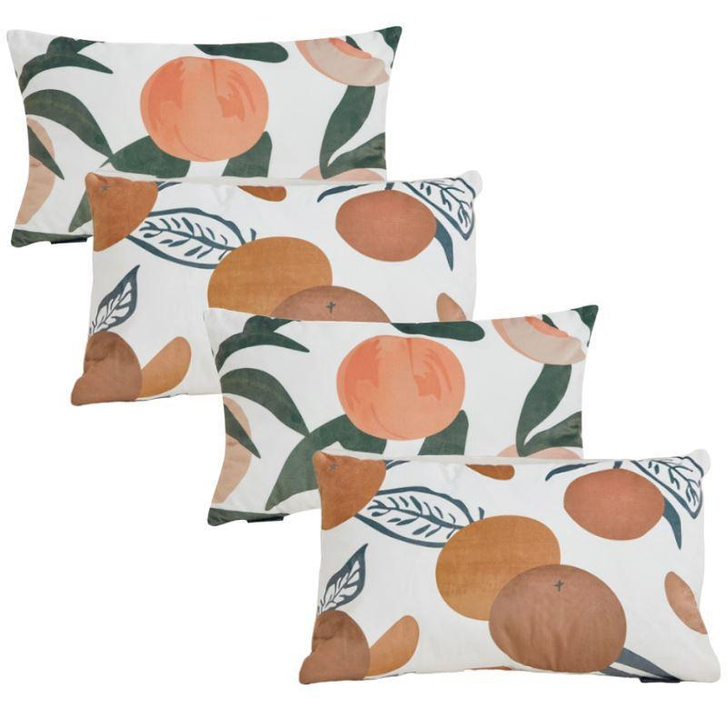 Collection Tropical Peach 4 coussins
