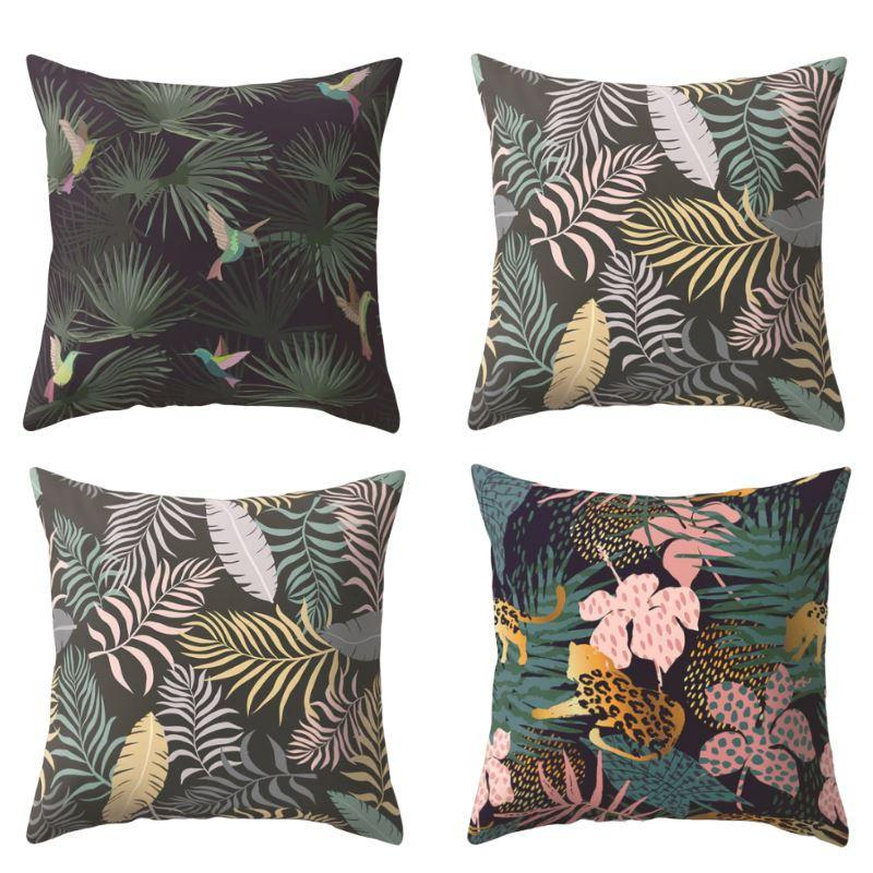 Collection Tropical Mood 4 coussins