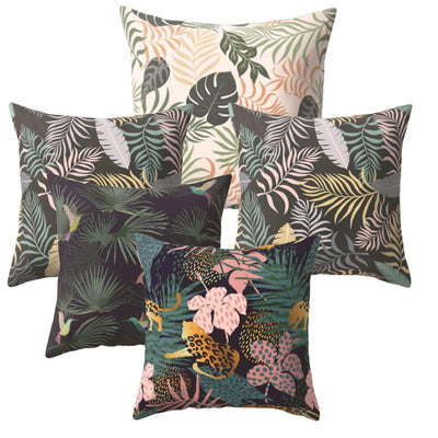 Collection Tropical Mood 5 coussins