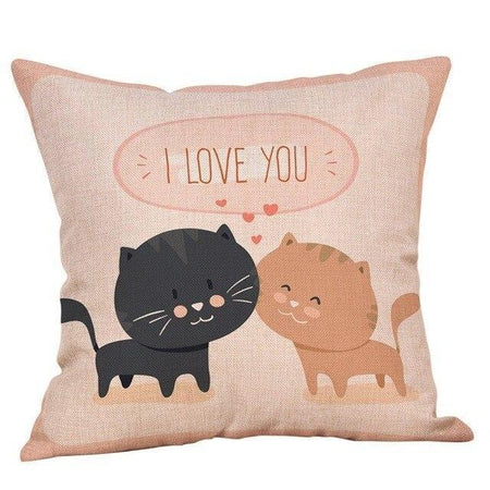 Coussin Coeur Hello Kitty | Housse Déco