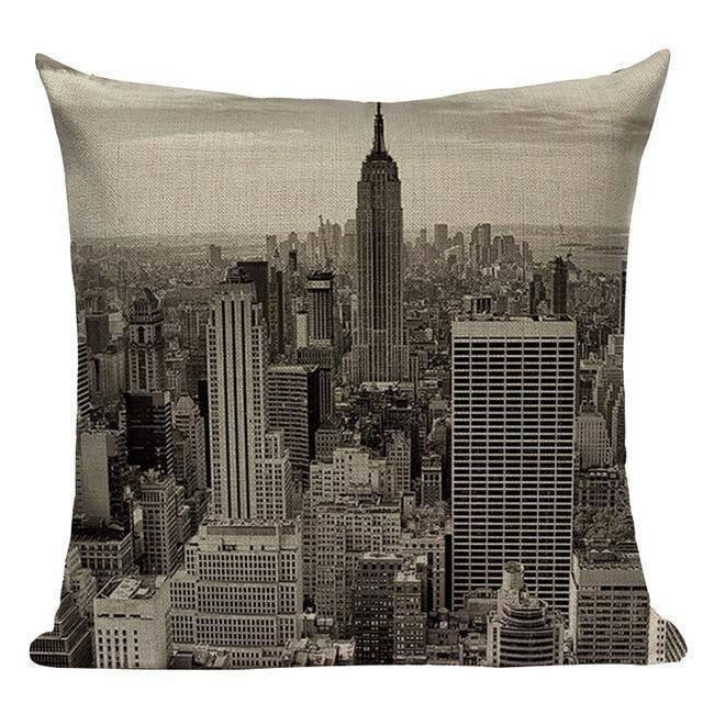 Coussin Déco New York