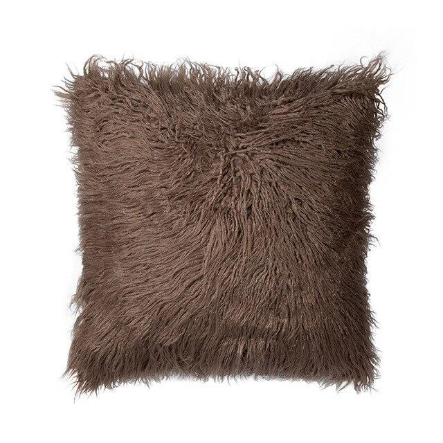 Coussin Fausse Fourrure