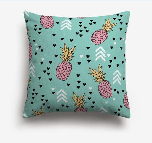 Coussin Forme Ananas | Housse Déco