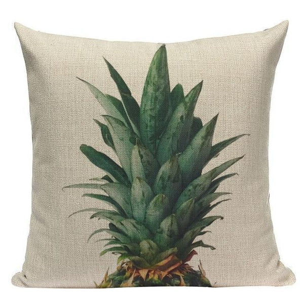 Coussin Photo Ananas | Housse Déco