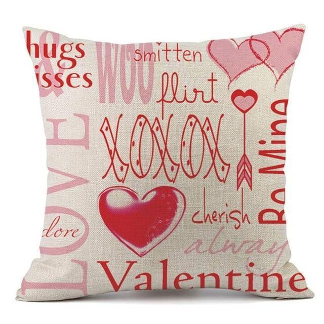 Coussin PS I Love You | Housse Déco