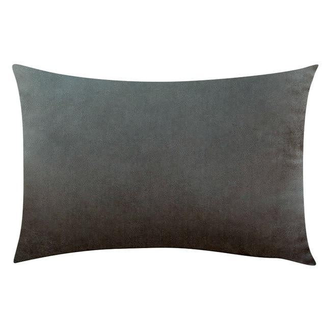 Coussin Rectangulaire Gris Anthracite