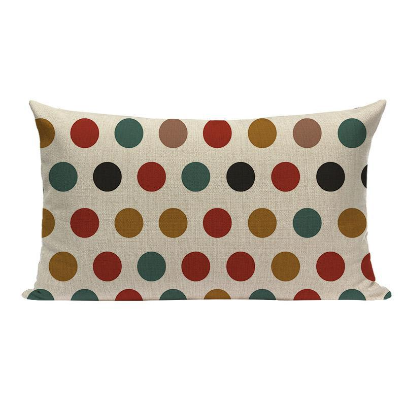 Coussin Rectangulaire Scandinave