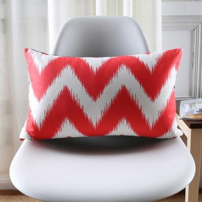 Coussin Rouge Rectangulaire