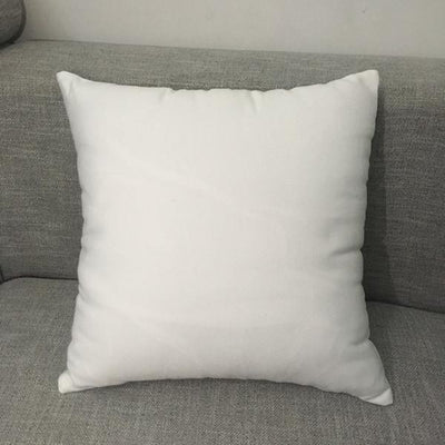 Coussin Personnalisable Recto Verso Blanc